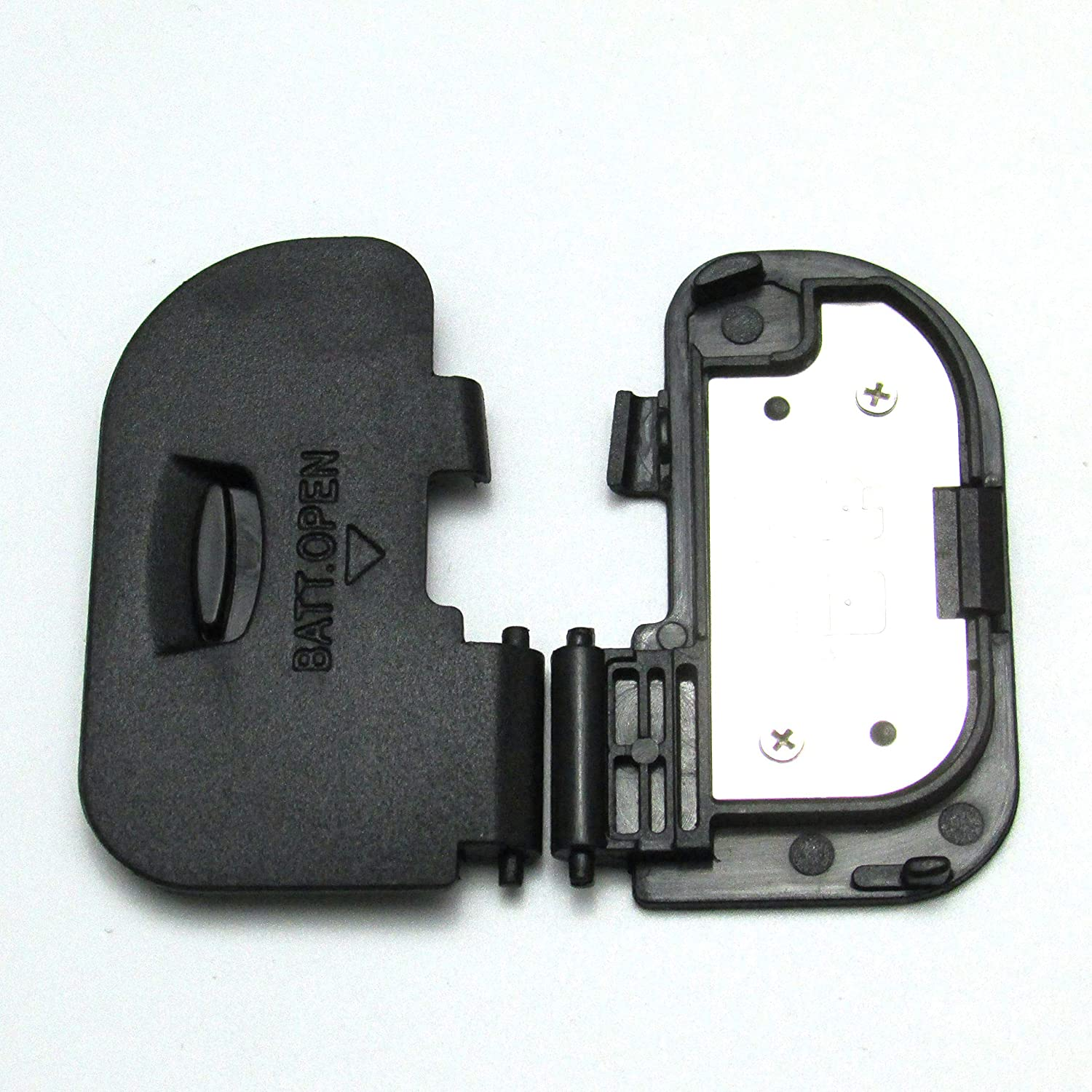 Shenligod Battery Door Cover Lid Cap Replacement Repair Part for Canon EOS 60D DSLR Camera (2PCS)