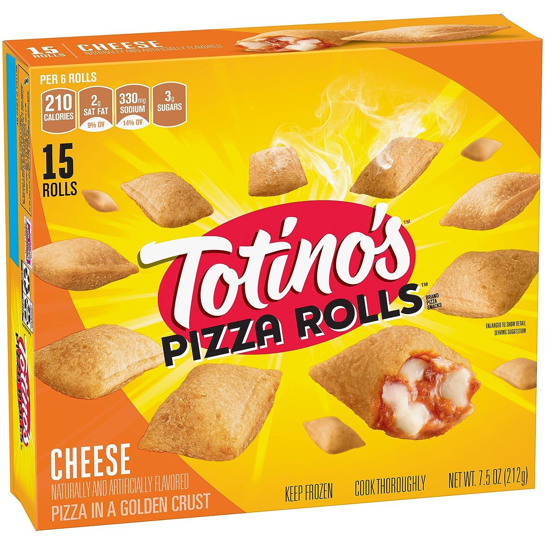 Totinos Pizza Rolls Cheese 15 Rolls 75 Oz Box Frozen