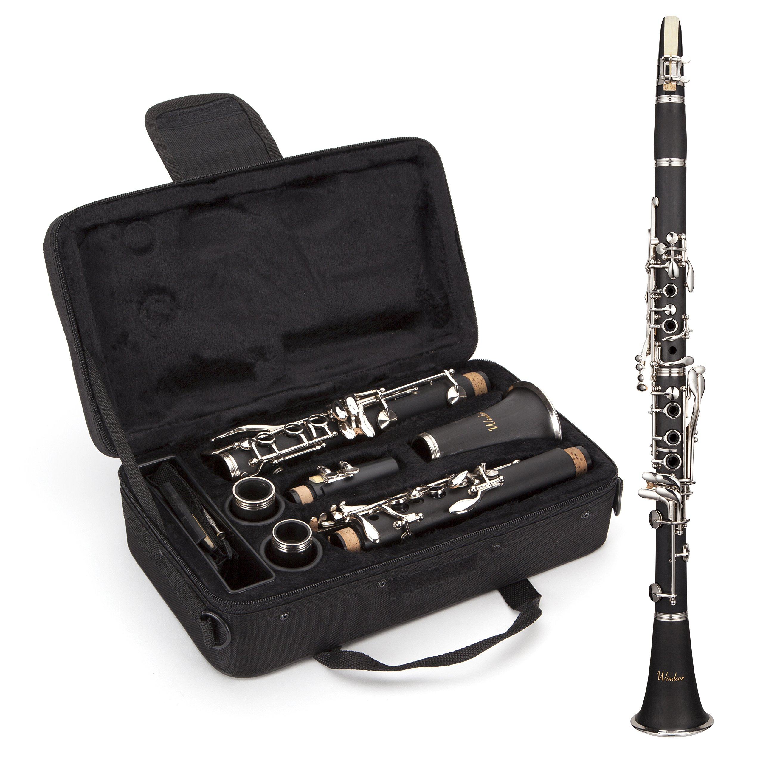 Windsor Student Bb Clarinet Includes Hard Case (MI-1003) by Windsor