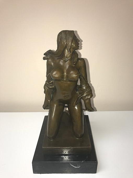The Vine Wine Nude Women Sexual Art Wi Statue Figurine Bronze Sculpture Figure