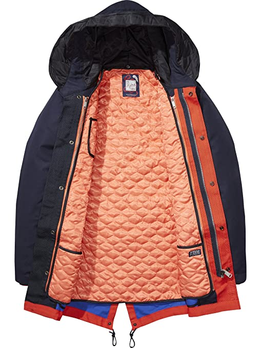 Double amp; Parka Uomo Hydrus Jacket Layer Scotch Soda Amazon Giacca xSwHUTHE
