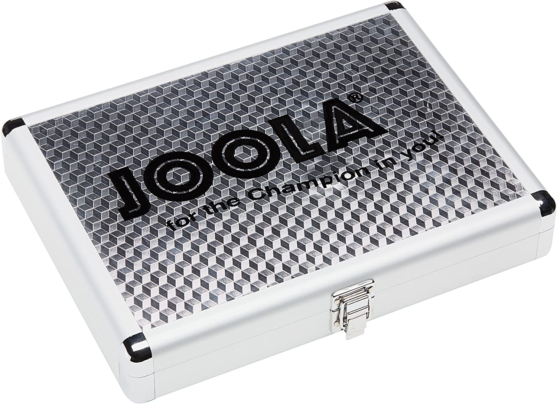 Joola Maletín para Palas de Ping Pong y Pelotas (Aluminio)