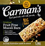 Carman's Muesli Bar Original Fruit Free, 6-Pack (270g)