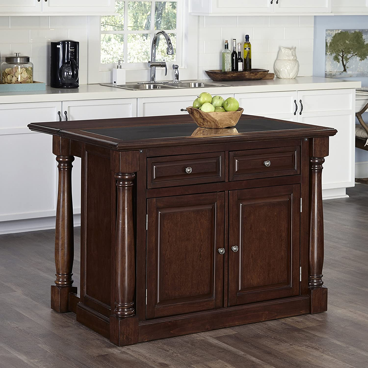 Amazon Home Styles 5007 945 Monarch Kitchen Island with