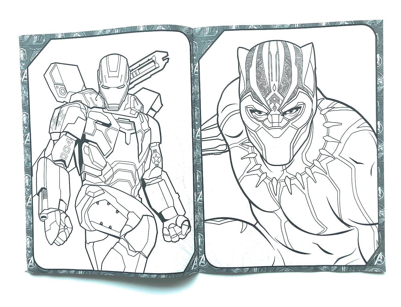 Game Para Colorear: Avengers Infinity War Personajes Para Colorear