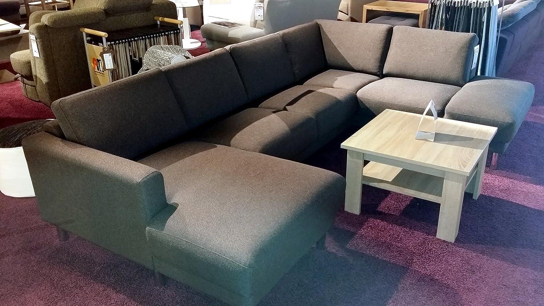 Lounge LITAUN braun Funktionssofa Couch Sitzecke Liege Sitzgruppe ...