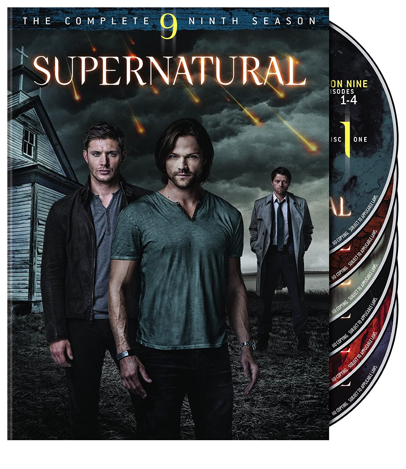 Supernatural: S9 (DVD)