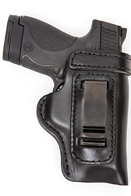 The Holster Store: Leather Gun Holster For Taurus PT111 G2 IWB Inside The  Waistband RH Right Hand or LH Left Hand Black or Brown HD