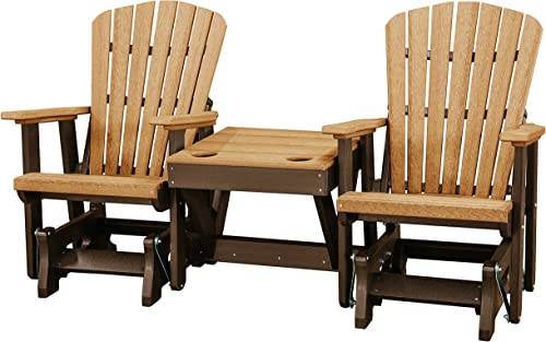 OS Home and Office 515CTB-K Double Glider, One Size, Cedar Tudor Brown