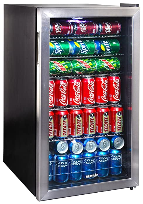 The Best Tainless Steel Beverage Cooler Mini Fridge