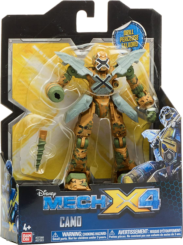 "Disney Mech-X4 5/"" Camo Combat Robot avec perceuse NEW IN BOX"