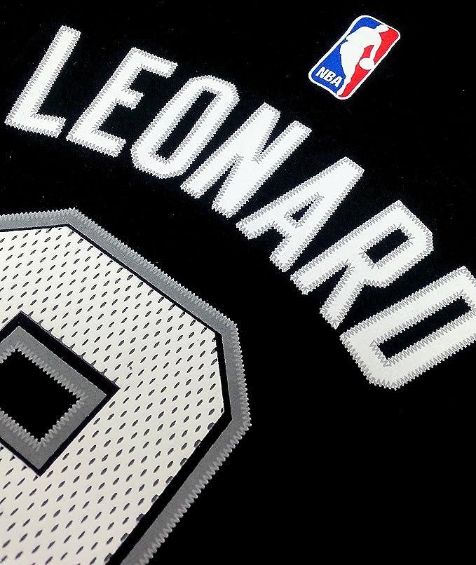 Kawhi Leonard San Antonio Spurs de la NBA juventud reproductor nombre y número camiseta # 2, Negro: Amazon.es: Deportes y aire libre