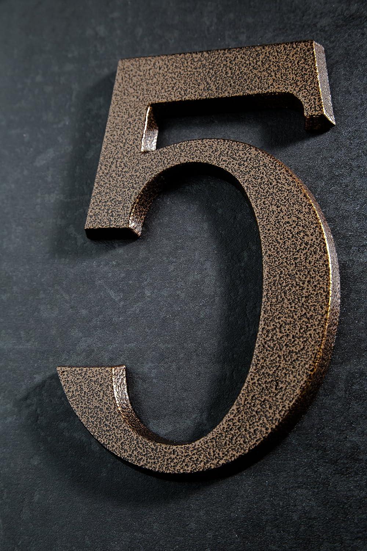 Huber N/úmero de Casa polvo de aluminio 20/cm elegante dreidimensionales Dise/ño