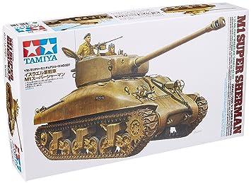 The Hobby Company Tamiya 300035322 Israeli Panzer M1 Super Sherman Tank  Model – Scale: 1: 35