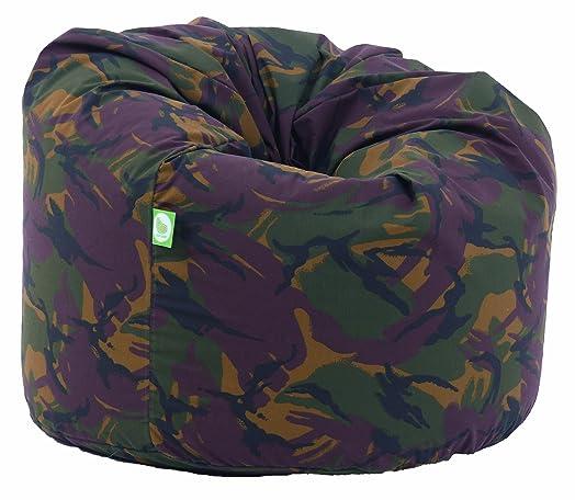 Cotton Camo Army Bean Bag Large Size