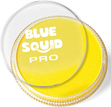 Amazon Com Blue Squid Pro Face Paint Classic Yellow 30gm Quality Professional Water Based Single Cake Face Body Makeup Supplies For Adults Kids Sfx Arts Crafts Sewing