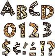 TREND Enterprises Inc Animal Prints 4 Venture UC Ready Letters