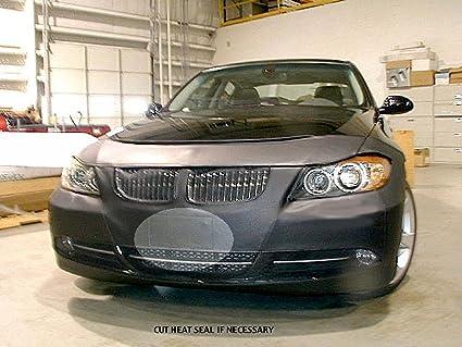 Bmw 328I 2008 >> Amazon Com Lebra 2 Piece Front End Cover Black Car Mask Bra