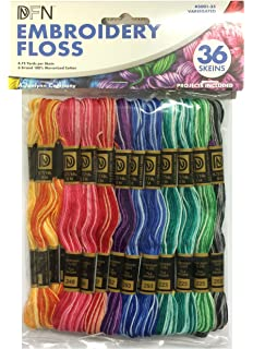 Amazon Com Janlynn Jumbo Pack 105 Skein Embroidery Floss Arts