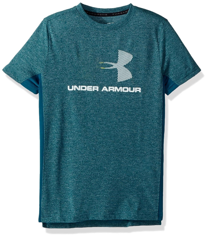 Under Armour Threadborne Tech SS Q2 Camiseta de Manga Corta, Niños 1310881
