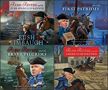 Rush Revere Time-Travel Adventures with Exceptional Americans Series 4 AUDIO SET