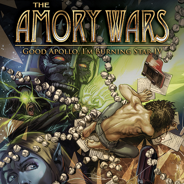 The Amory Wars: Good Apollo, I'm Burning Star IV (Issues) (12 Book Series)