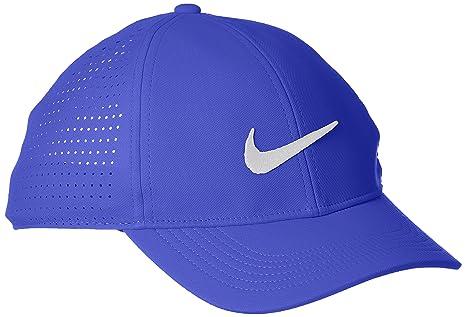 Nike Legacy91 Perf Gorra de Golf, Hombre, Azul (Blue 452), Talla