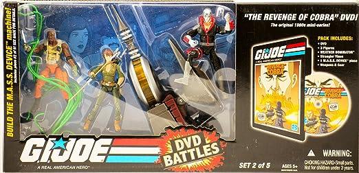 DVD pack de combate: La venganza de Cobra: Amazon.es: Juguetes y juegos