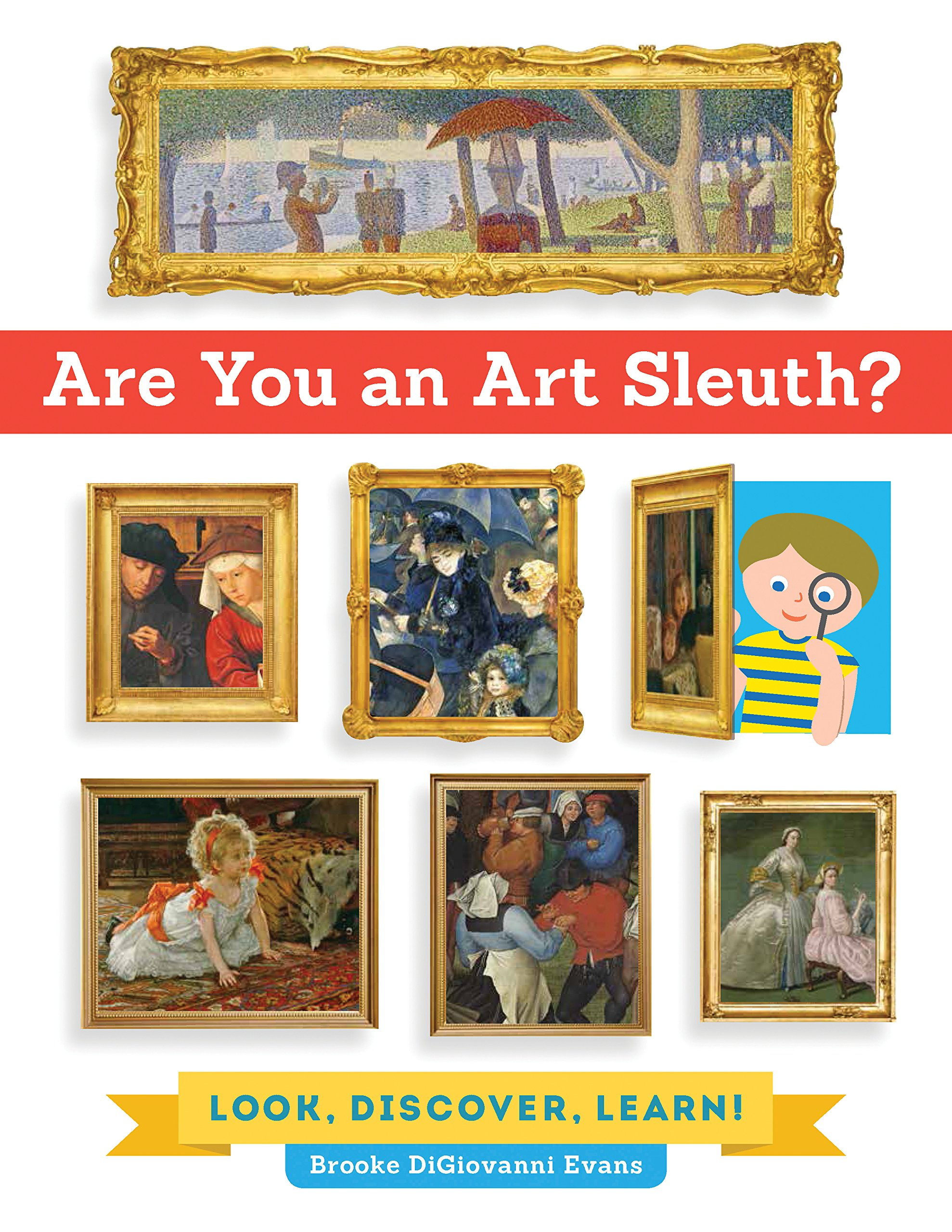 Are You an Art Sleuth?: Look, Discover, Learn! pdf epub