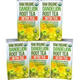 Dandelion Root Tea Detox Tea - Raw Organic Vitamin Rich Digestive - Helps Improve Digestion and Immune System - Anti…