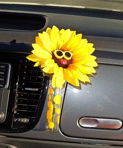 Image Unavailable & Amazon.com: Bling My Bug VW Beetle Flower - Sunflower Yellow Glasses ...