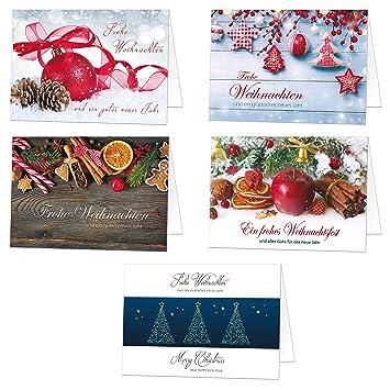Weihnachtskarten Exklusiv.50 Exklusive Weihnachtskarten Klappkarten Mit Umschlag Perfekt