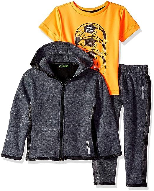 Amazon.com: RBX - Conjunto de chaqueta, camiseta y pantalón ...