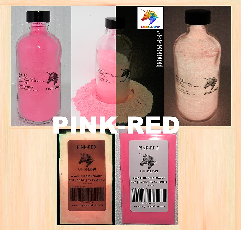 UniGlow 暗闇で輝く蛍光粉末染料  16 Oz / 453.59 Grams 687928337366 B01NAN1D4F 16 Oz / 453.59 Grams|Pink-Red Pink-Red 16 Oz / 453.59 Grams