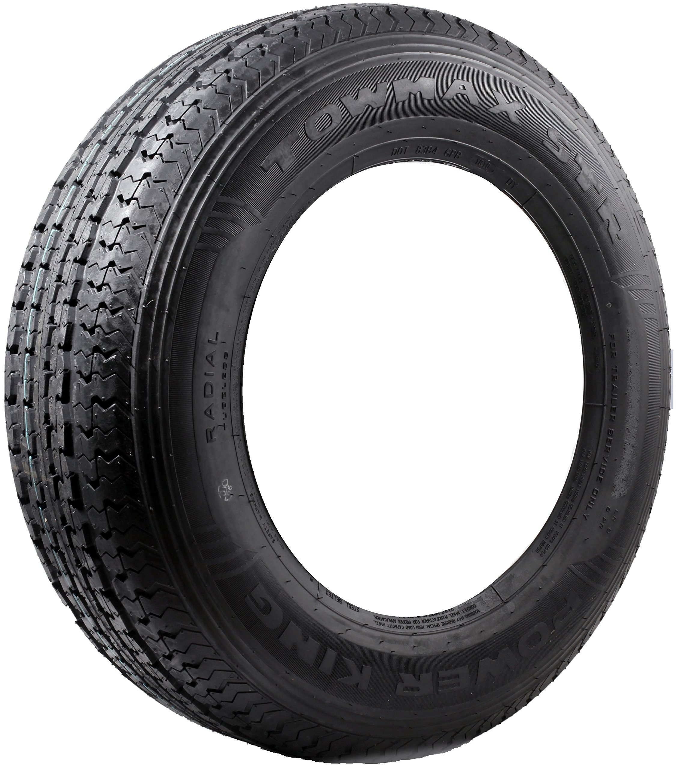 Set of 2 New ST 205/75R14 OSHION 6 Ply C Load Radial Trailer Tire - 100/96 L