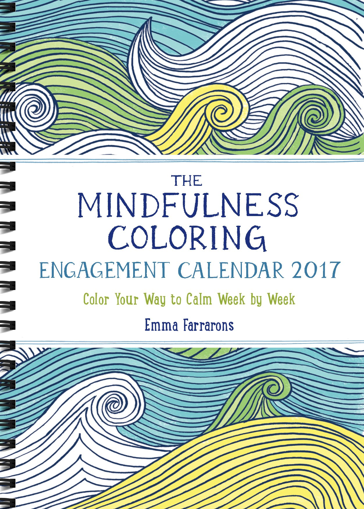 Mindfulness Coloring Engagement Calendar 2017 product image