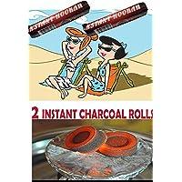 Hookah Charcoal 30,60 and 100 Tablets, Hooka Huka Sheesha Nargila Coals for Shisha Smoking-Instant Light Coals (2)