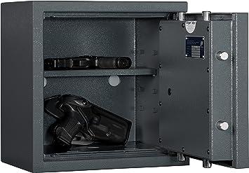 Hierro BACHMANN Armas cortas Caja fuerte KWT 1000 en 1143 – 1 grados 0: Amazon.es: Bricolaje y herramientas