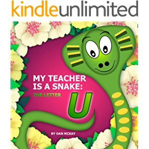 My Teacher is a Snake the letter U