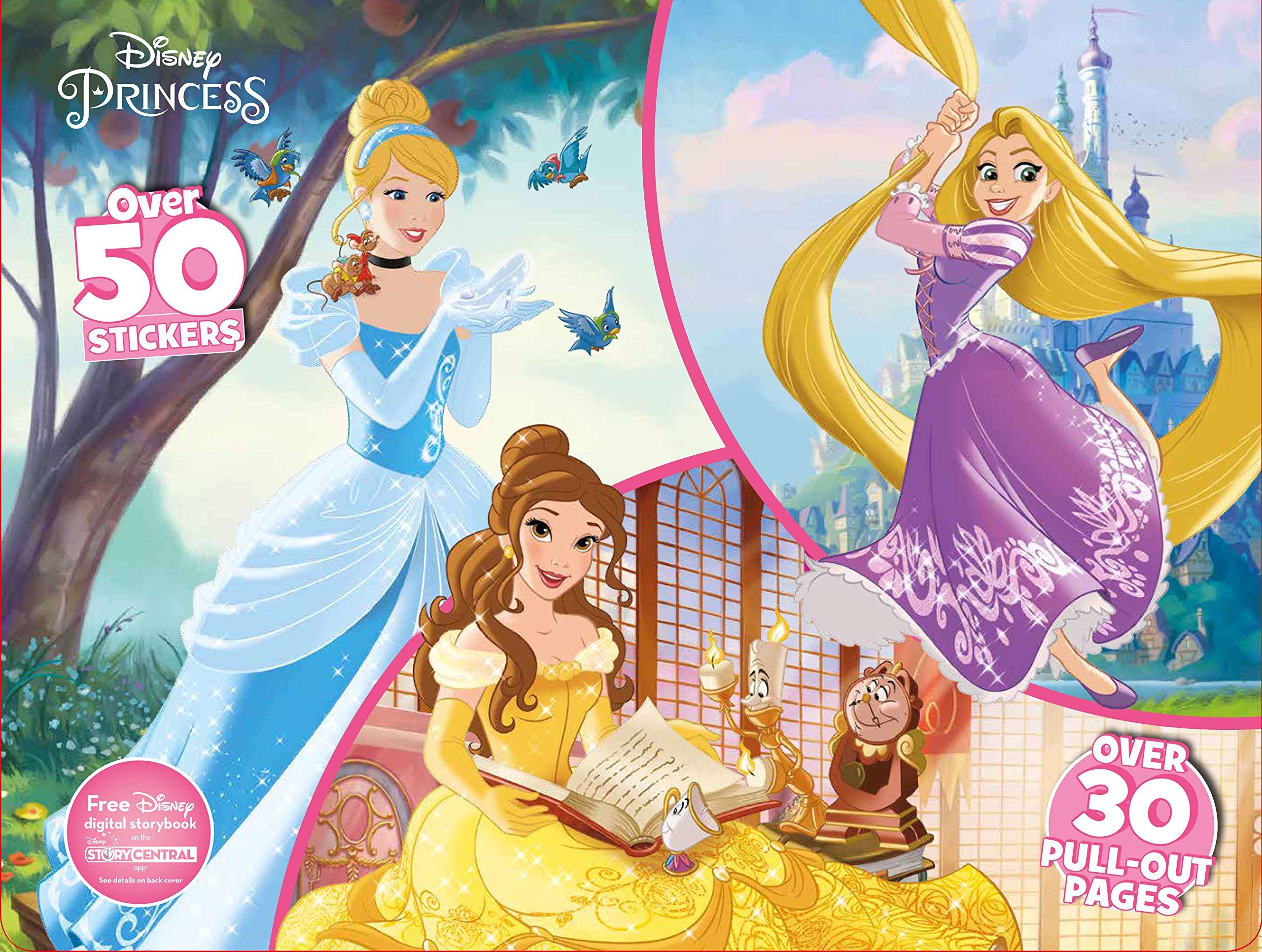 Disney Princess Floor Coloring Pad product image