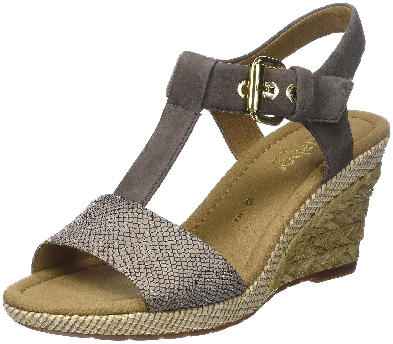 Gabor Shoes Comfort Comfort Sport, Sandales Sport, Bride Cheville Femme Shoes Marron (Torba/Fango Bast) 30296cf - therethere.space