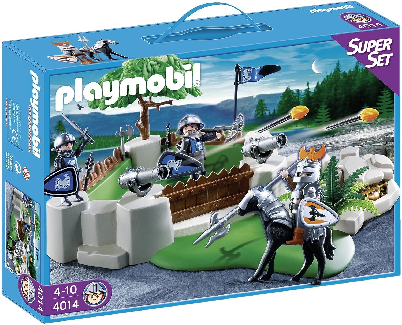Jeu Des Playmobil Construction Bastion De Superset 4014 0wvm8Nn