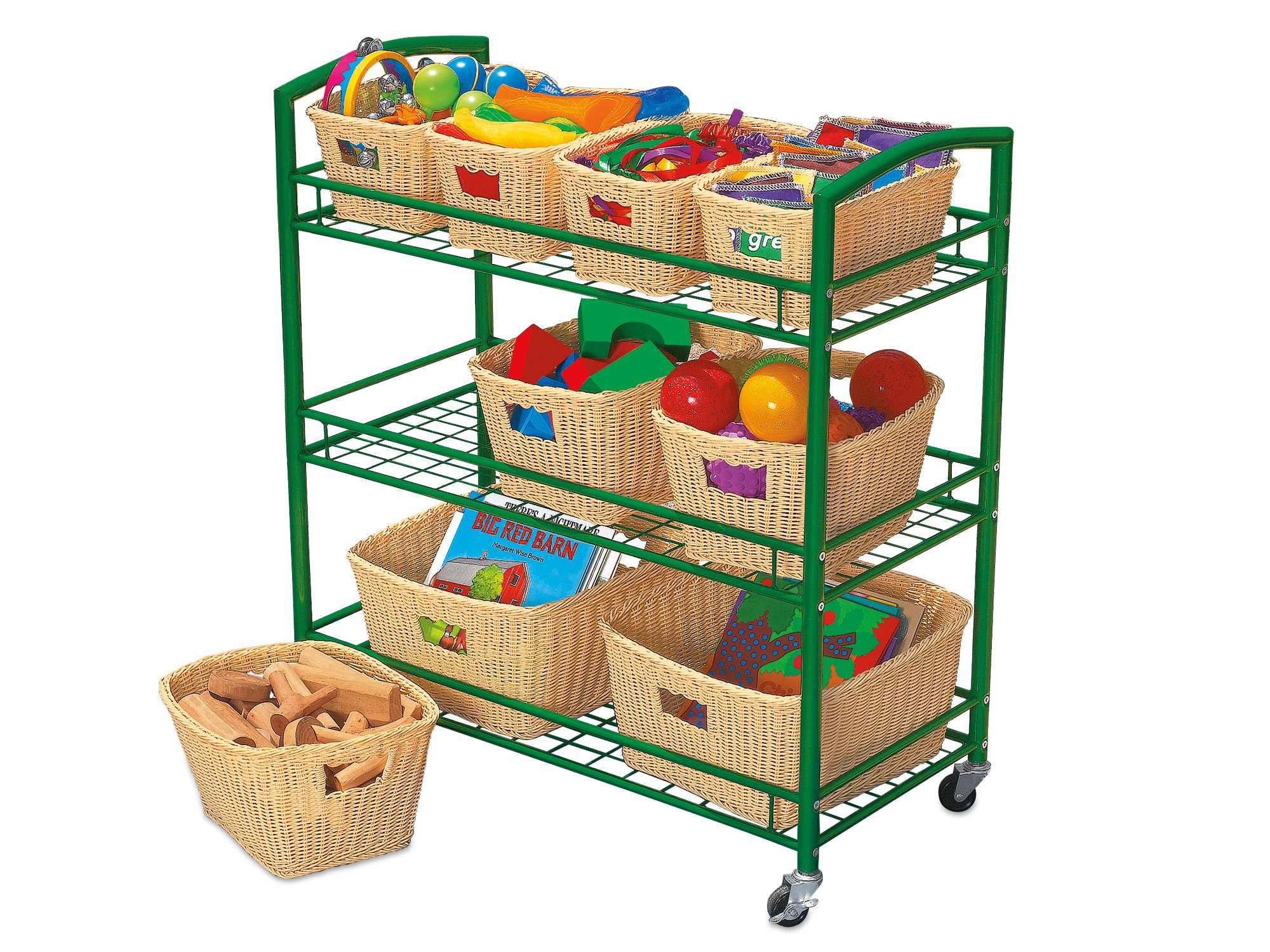 Lakeshore Outdoor Classroom Cart with Cover by Lakeshore Learning Materials