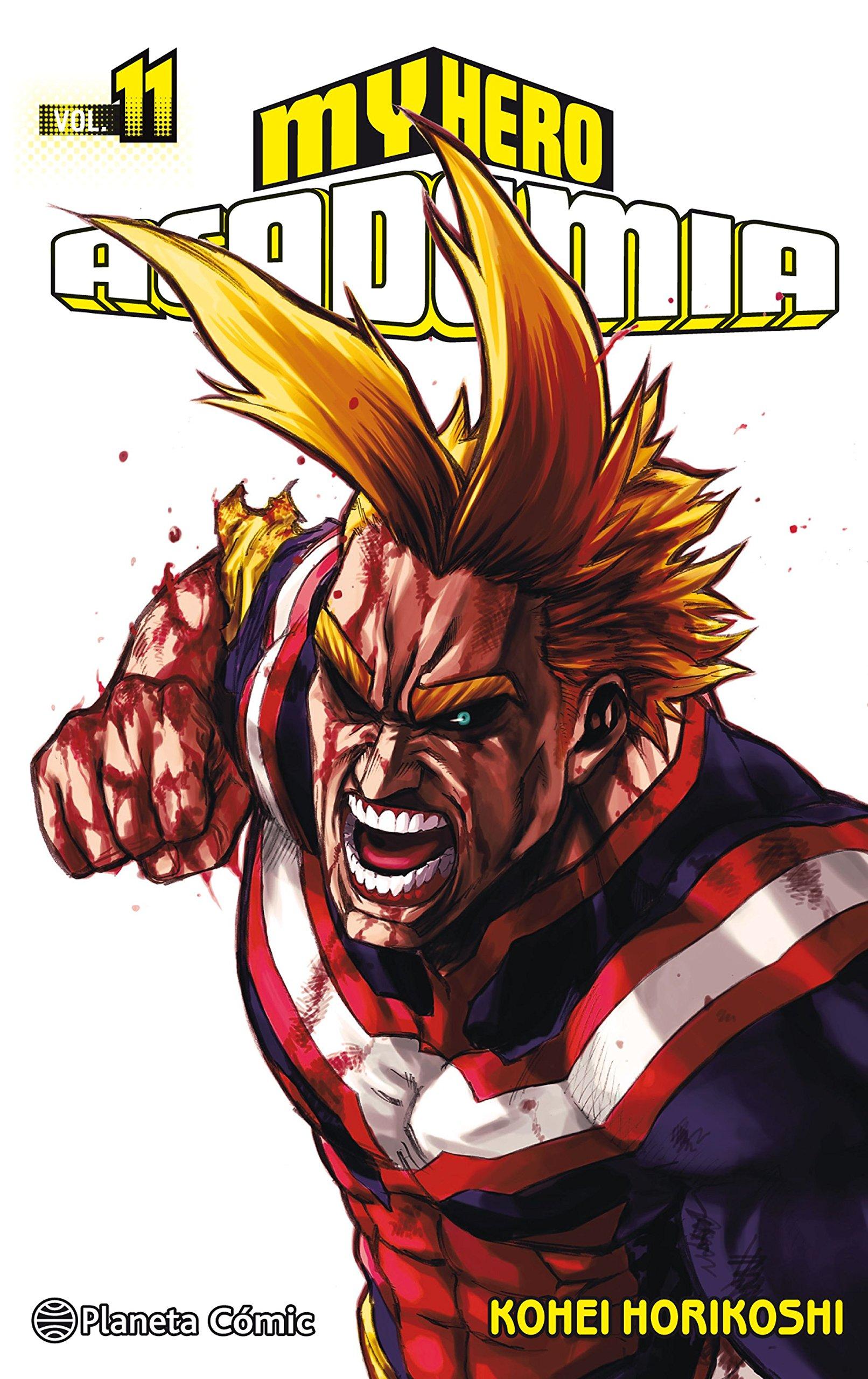 My Hero Academia nº 11 (Manga Shonen) Tapa blanda – 3 jul 2018 Kohei Horikoshi Daruma Planeta DeAgostini Cómics 8491468536