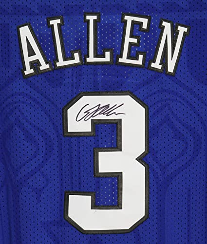 1535202bc92a Grayson Allen Duke Blue Devils Signed Autographed Blue  3 Custom Jersey