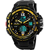 TIMEWEAR Analog Digital Sports Black Watch for Men