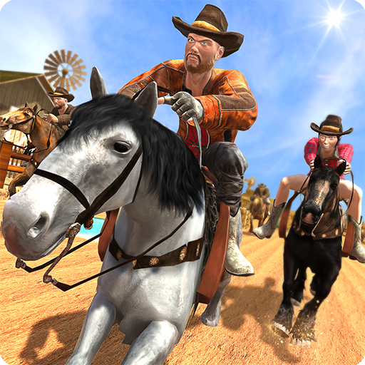 (Derby Quest Extreme Wild Horse Race Texas Game 3D: Extreme Frenzy Subway Run Jumping Adventure Racing Simulator 2018)