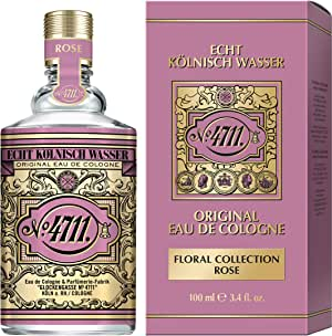 4711 4711 Rose Eau De Cologne Spray (Unisex) 100ml
