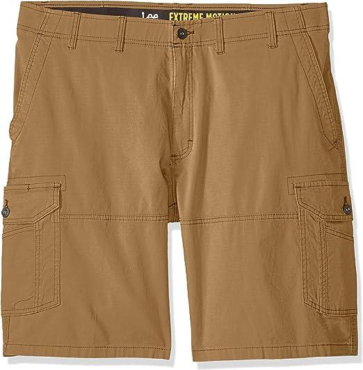KouKou Mens-Flat Front-Shorts Workout-Pockets Running-Big /& Tall