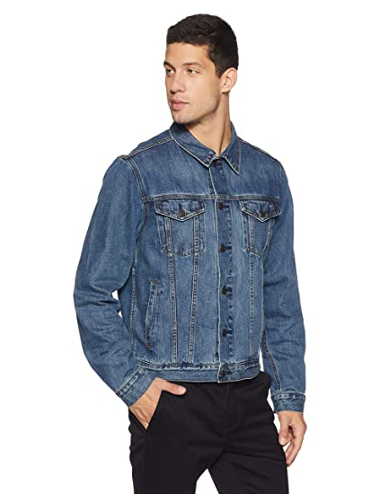 size 40 factory authentic best Buy GAP Men's Icon Long Sleeve Denim Jacket at Amazon.in